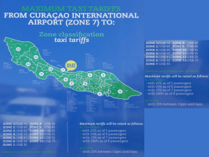 Curacao Luxury Holiday Rentals – Transport Taxi Map