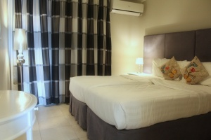 Luxury 2 bedroom Seafront Villa, Coral Garden, by Curacao Luxury Holiday Rentals, located in the Curacao Ocean Resort