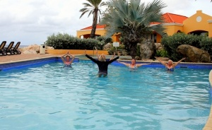 Curacao Luxury Holiday Rentals – Balance your Life – yoga and aqua chi yoga