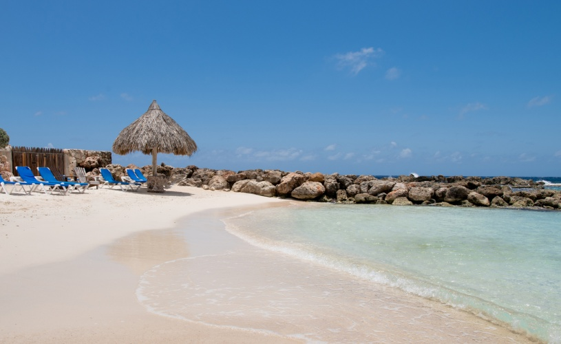 Private beach, Curacao Luxury Holiday Rentals Located in the Curacao Ocean Resort