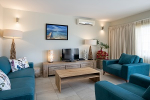 Luxury 2 bedroom Seafront Villa - Tropical Lagoon Curacao Luxury Holiday Rentals