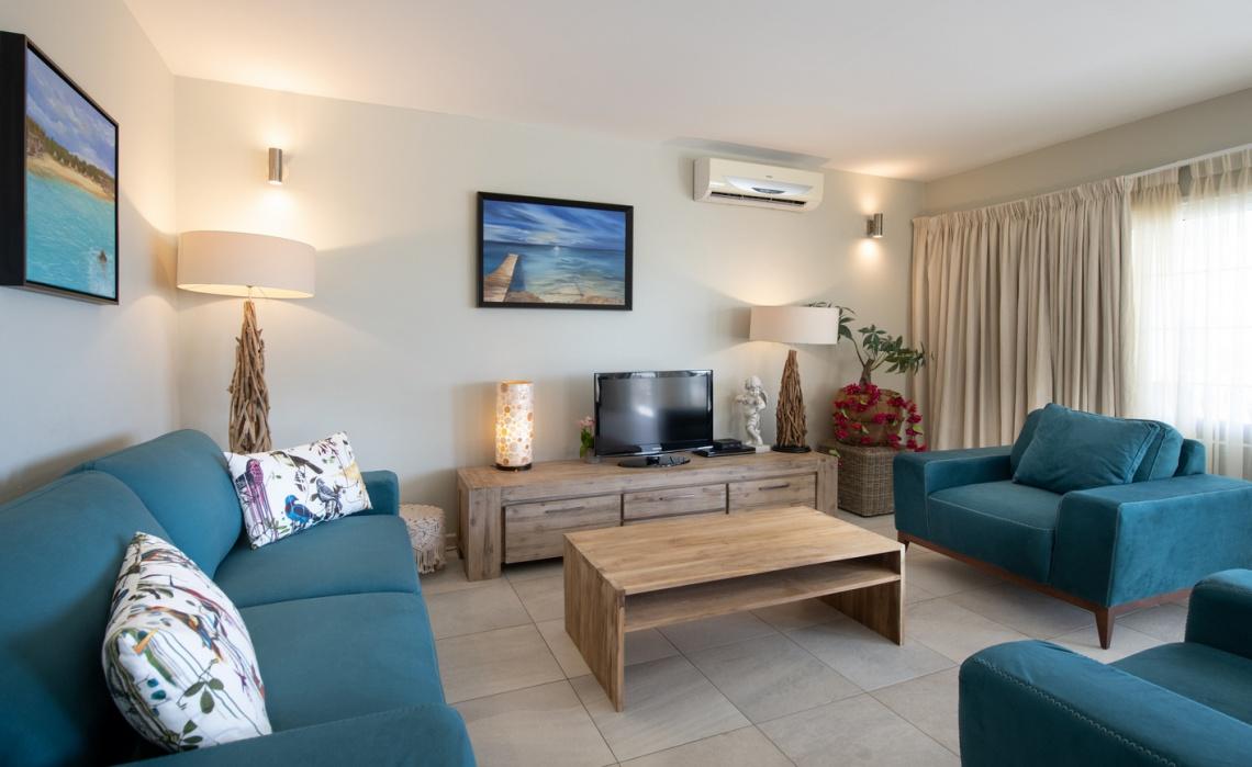 Luxury 2 bedroom Seafront Villa - Tropical Lagoon Curacao Luxury Holiday Rentals